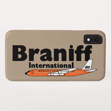 Phone Case iPhone and Galaxy Barely There Braniff Orange Boeing 707 in Beige
