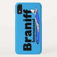 Phone Case iPhone and Galaxy Barely There Braniff Blue Boeing 707 in Light Blue