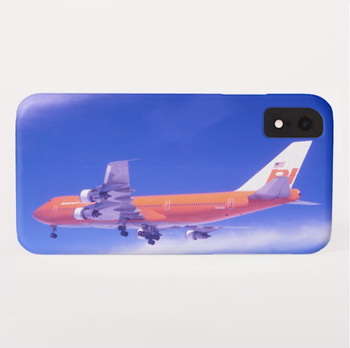 Phone Case iPhone and Galaxy Barely There Braniff Boeing 747-127 N601BN Landing