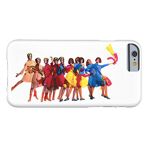 Phone Case iPhone and Galaxy Barely There Braniff Pucci Design Air Strip I