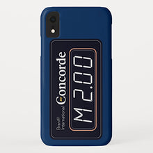 Phone Case iPhone and Galaxy Barely There Braniff Concorde Mach 2 Dark Blue