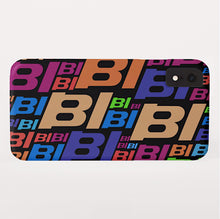 Phone Case iPhone and Galaxy Barely There Braniff Multi BI Logo Black