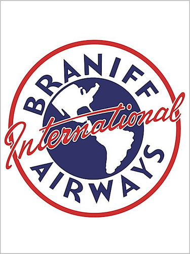 Poster or Banner Braniff International Airways 1948 Logo