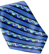 Necktie Men's Braniff Pucci Design 1972 727 Braniff Place Blue Collection