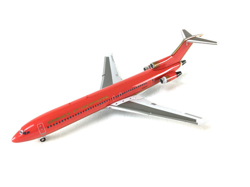 Airplane Model Braniff International Boeing 727-200 Red Modified Ultra Color Scheme 1/200 Scale