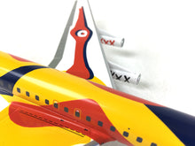 Airplane Model Braniff International McDonnell-Douglas DC-8-62 Alexander Calder 1/200 Scale