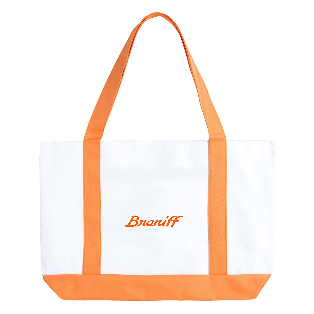 Tote Bag Large Boat Braniff Ultra Orange