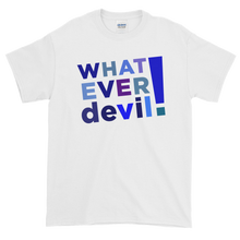 "Load image into Gallery viewer, ""Whatever devil!"" Shades Blue"