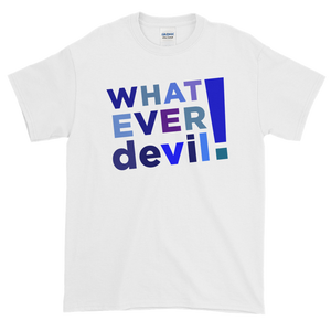 """Whatever devil!"" Shades Blue"