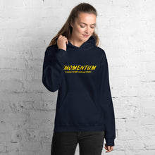 "Load image into Gallery viewer, ""Momentum"" Hoodie Gold"