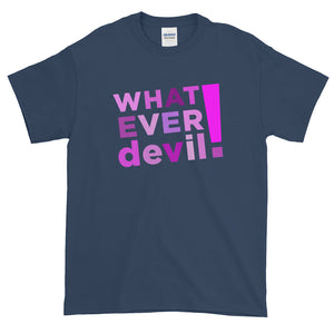 """Whatever devil!"" Shades Purple"