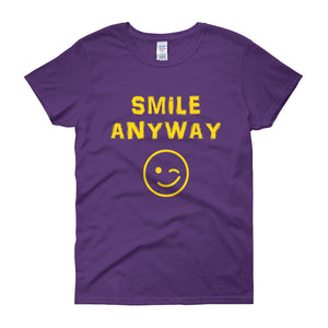 """Smile Anyway"" Lady Gold"