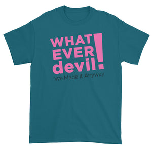 """Whatever devil!"" Pink X"