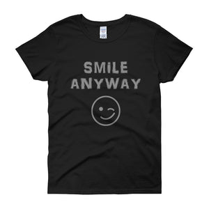 """Smile Anyway"" Lady Gray"
