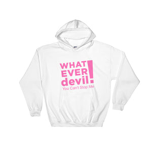 """Can't Stop"" Hoodie Pink"