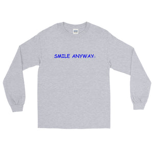 """Smile Anyway"" LS Blue 2"