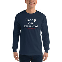 "Load image into Gallery viewer, ""BELIEVING"" Long Sleeve 2"