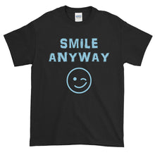 "Load image into Gallery viewer, ""Smile Anyway"" Sky Blue Letter"