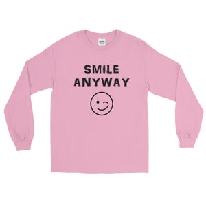 """Smile Anyway"" Black Letter LS"