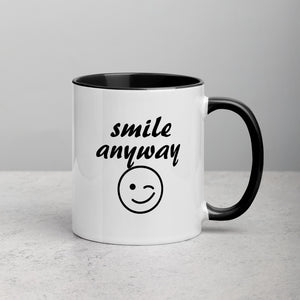 Smile Anyway Mug