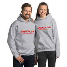 "Load image into Gallery viewer, ""Momentum"" Hoodie Red"