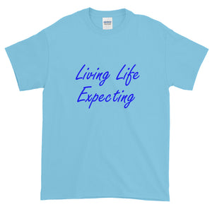 """Expecting"" Plus Size Blue"