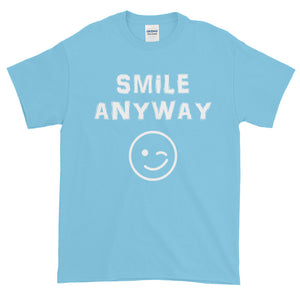 """Smile Anyway"" White Letter"