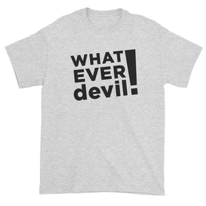 """Whatever devil!"" Black"
