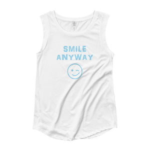 """Smile Anyway"" Something Special Sky Blue Letter"