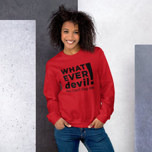 "Load image into Gallery viewer, ""Can't Stop"" Black Letter Sweatshirt"