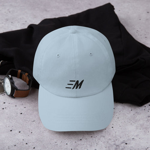 MOMENTUM Black Letter Dad Hat