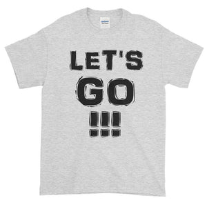 """LET'S GO!!!"" Black Letter"