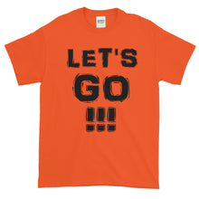 "Load image into Gallery viewer, ""LET'S GO!!!"" Black Letter"