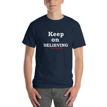 "Load image into Gallery viewer, ""BELIEVING"" T-Shirt 2"