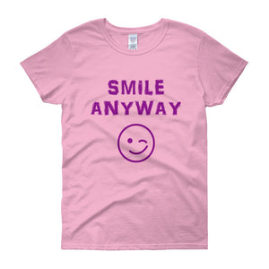 """Smile Anyway"" Lady Purple"