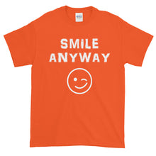 "Load image into Gallery viewer, ""Smile Anyway"" White Letter"