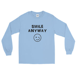 """Smile Anyway"" LS Black"