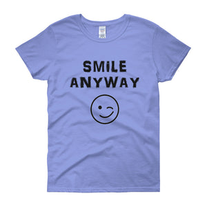 """Smile Anyway"" Lady Black"