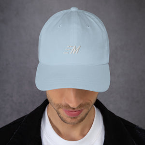 MOMENTUM White Letter Dad Hat