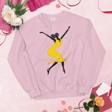 "Load image into Gallery viewer, ""BLISS"" Gold Sweatshirt"