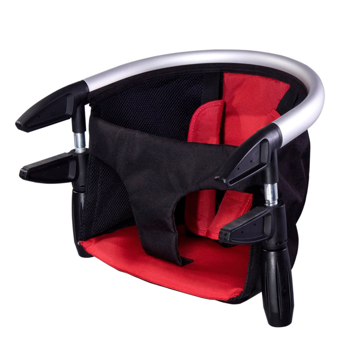 Phil /& Teds Lobster Clip-On Portable High Chair In Black Brand w//Carry Bag New