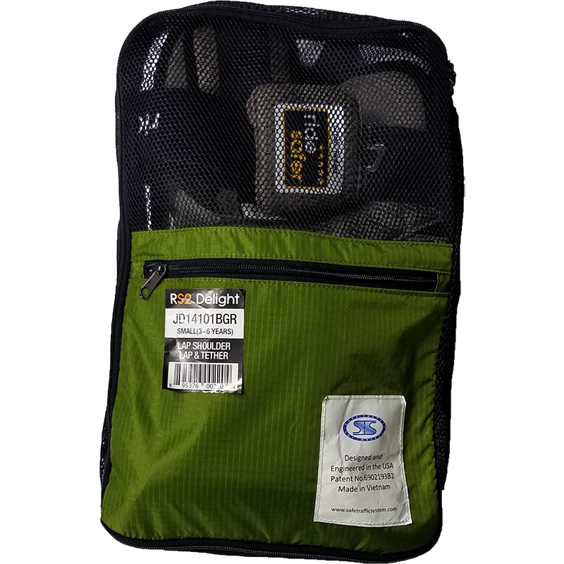 RideSafer Travel Vest GEN4 Delight > LARGE 22-36kg