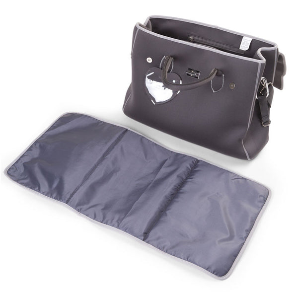 NEOPRENE NURSERY BAG DARK GREY