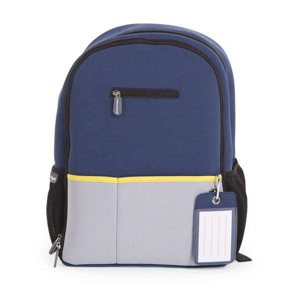 NEOPRENE NURSERY BACK PACK NAVY BLUE
