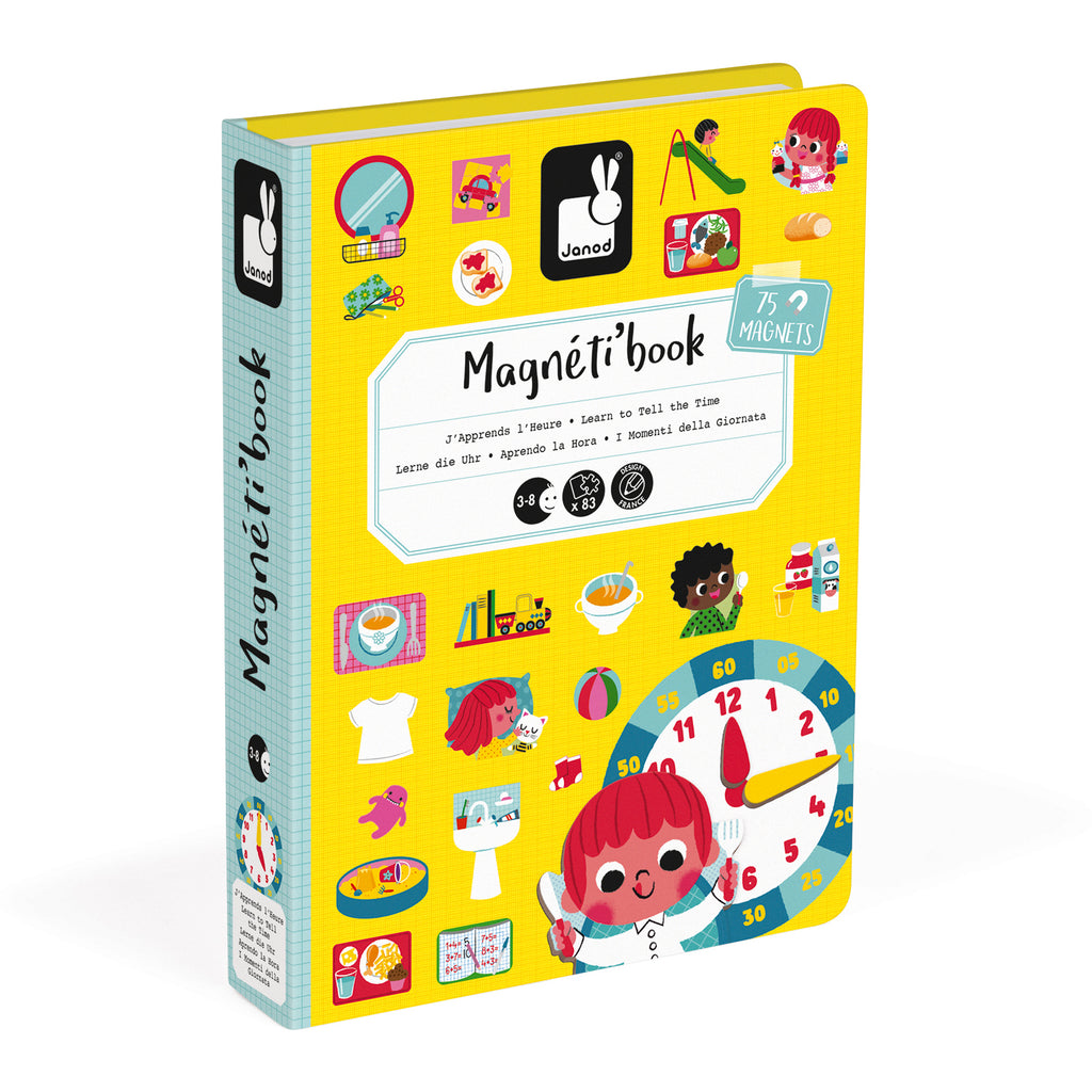 Learn to Tell the Time Magnetibook