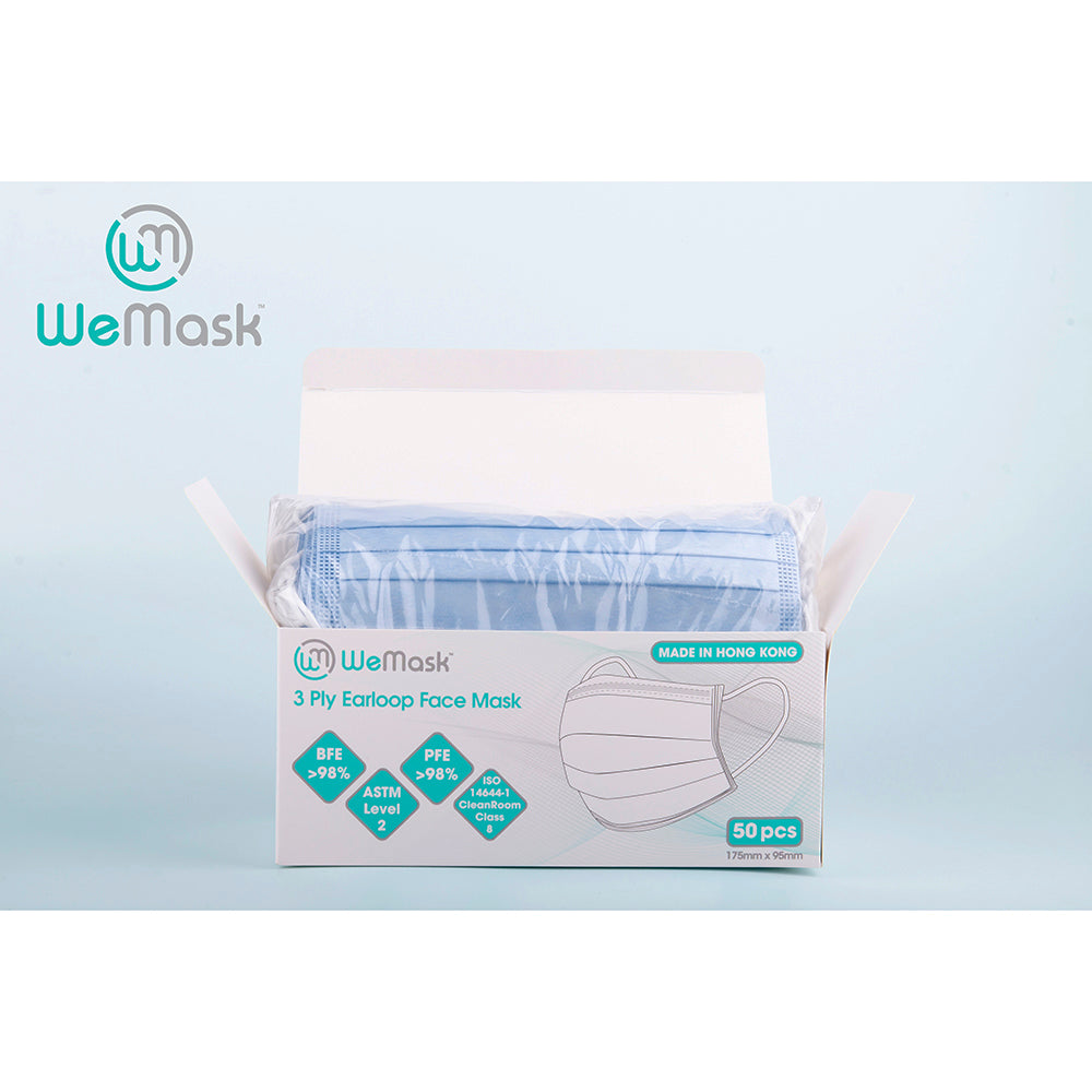 WeMask Adults - 3 ply Earloop Face Mask