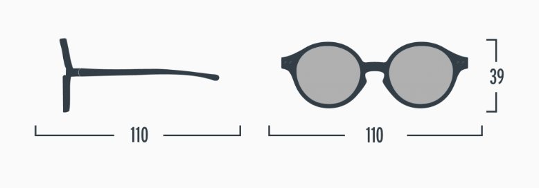 Izipizi toddler sunglasses specifications