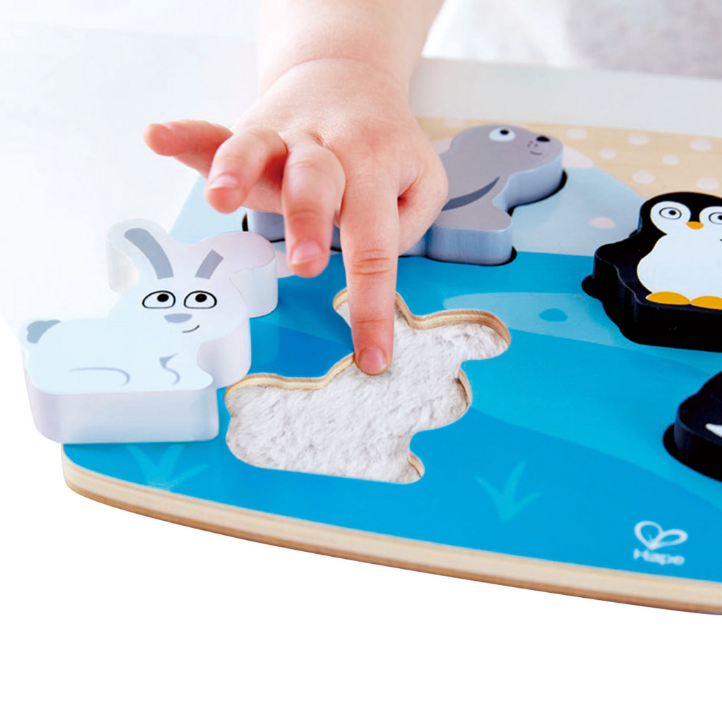 Polar Animal Tactile Puzzle - Touchy Feely