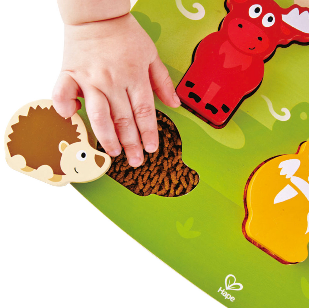 Forest Animal Tactile Puzzle - Touchy Feely