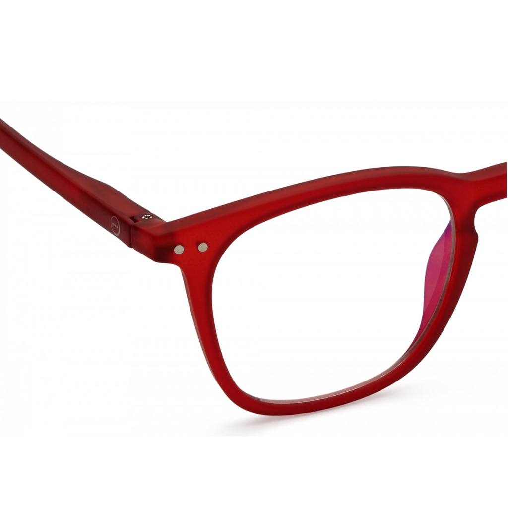 #E SCREEN Anti Blue Light Glasses > Teens and Adults > Red